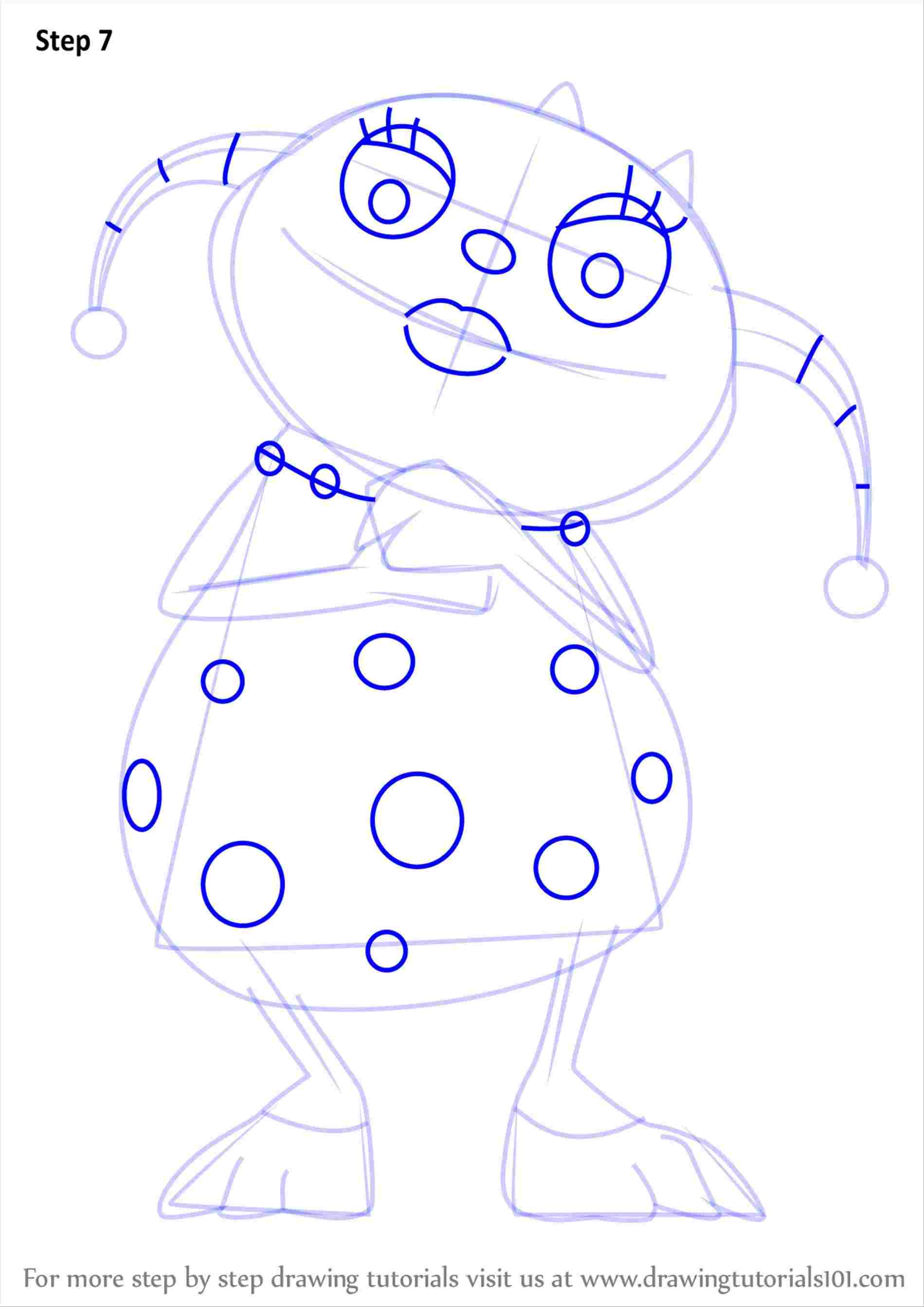 Baldi Bendy Coloring Pages - sheapeterson